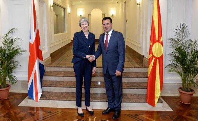 May: 'Makedonya'yı destekliyoruz'