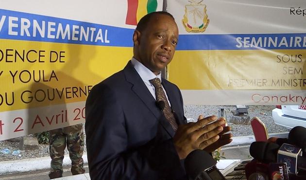Gine'de başbakan ve hükümet istifa etti