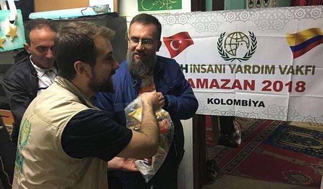 İHH'dan Kolombiya'da Ramazan yardımı