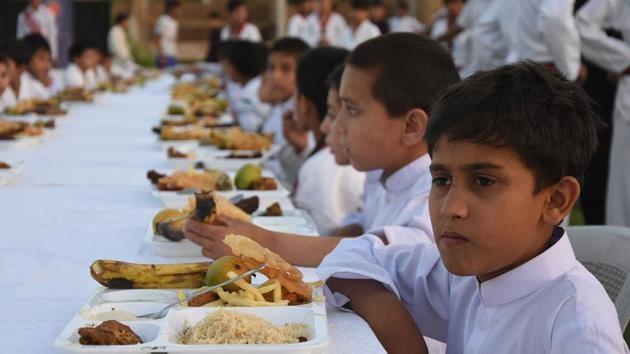 TİKA, Pakistan'da 600 yetime iftar verdi