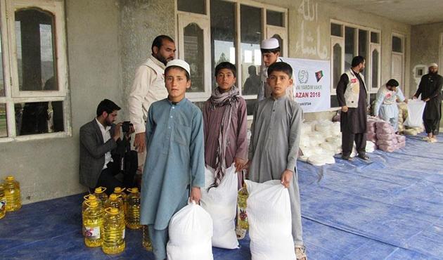 İHH'dan Afganistan'daki ihtiyaç sahiplerine Ramazan yardımı