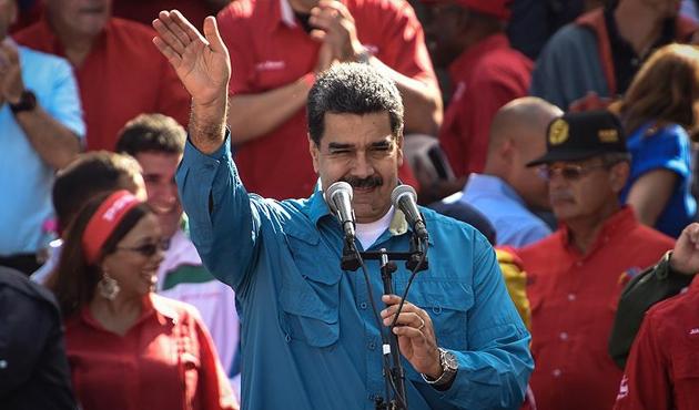 Maduro muhalefetle diyaloğa hazır
