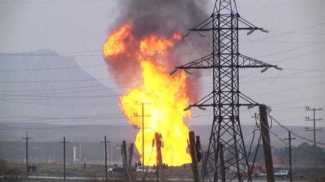 Bakü'de gaz patlaması: Bir ölü