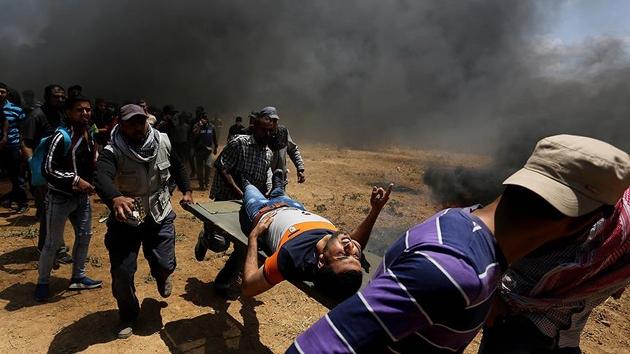 Filistin İsrail katliamları ile ilgili UCM'ye başvurdu