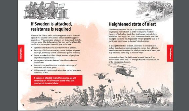 İsveç'te tüm evlere 'savaşa hazırlık' bildirisi