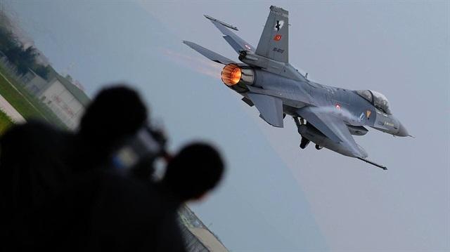 TSK Irak'ın kuzeyinde 4 hedef imha etti