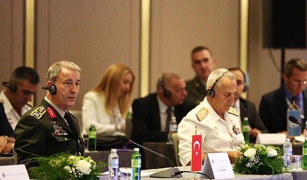 Orgeneral Akar 'Balkan Ülkeleri Genelkurmay Başkanları Konferansı'nda
