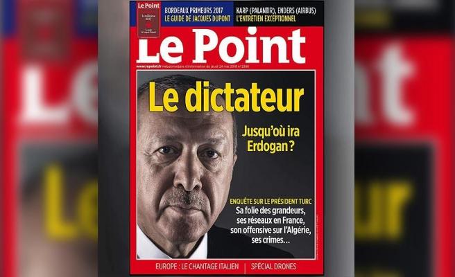 'Le Point, sorumsuz ve düşmanca'