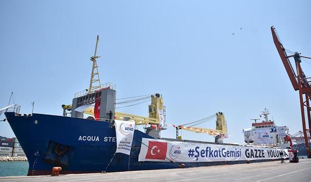 Türkiye'den Gazze'ye milyon dolarlık yardım