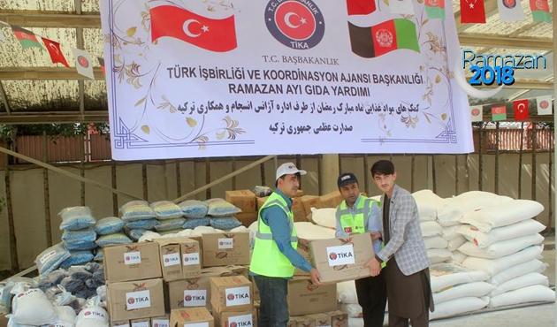 TİKA'dan Kabil'de gıda yardımı