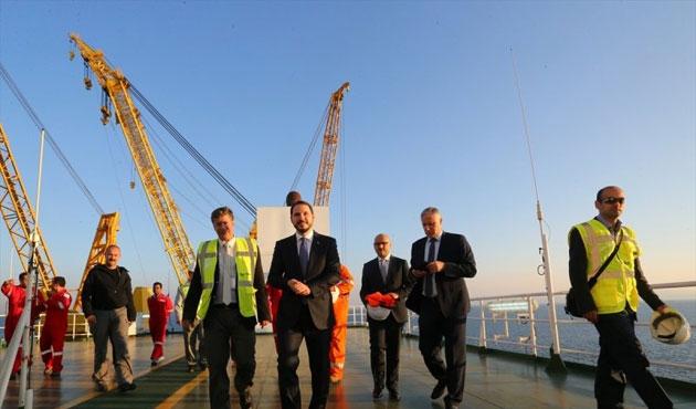 Tanap'ın Azerbaycan açılışı gerçekleşti