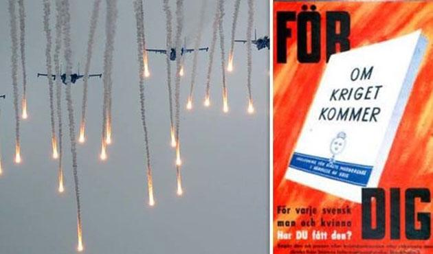 İsveçlilere 'Kriz ve Savaş Gelirse' broşürü