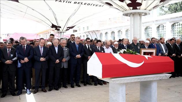 Semavi Eyice ile Osman Çataklı son yolculuğuna uğurlandı