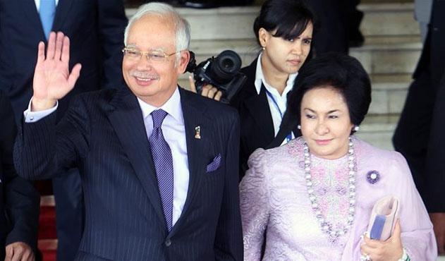 Eski Malezya Başbakanı Rezzak'ın eşi ifadeye çağırıldı