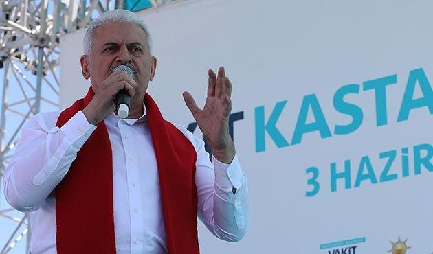 Yıldırım'dan TİKA'yı diline dolayan Akşener'e cevap