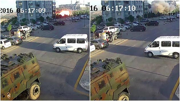 Külliye'nin bombalanmasına dair yeni görüntüler ortaya çıktı
