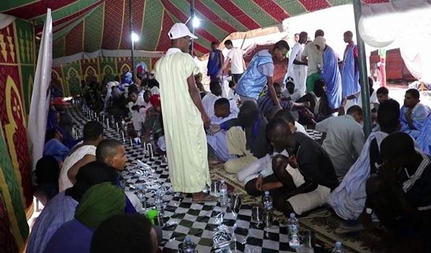 Kuraklığın vurduğu Moritanya'da 'Rahman Sofraları'