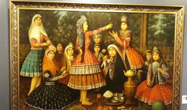 İranlı sanatkârların hünerleri TİEM'de…