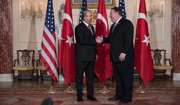 Çavuşoğlu-Pompeo görüşmesinde kritik Münbiç kararı