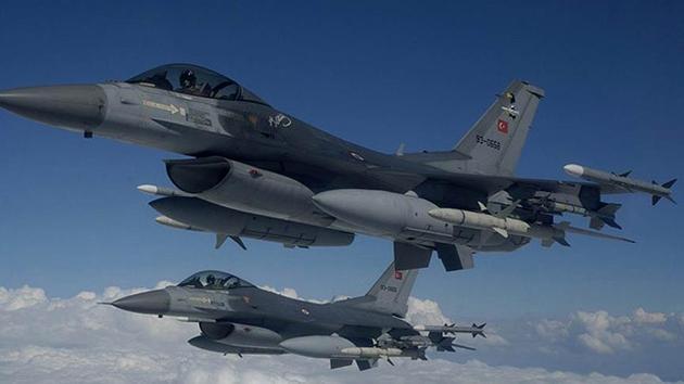 Kuzey Irak'a hava operasyonu: 6 terörist öldü