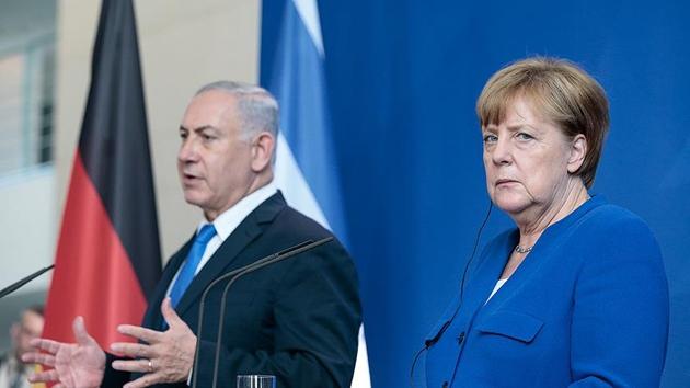 Netanyahu İran'a baskı için Merkel'i ikna edemedi