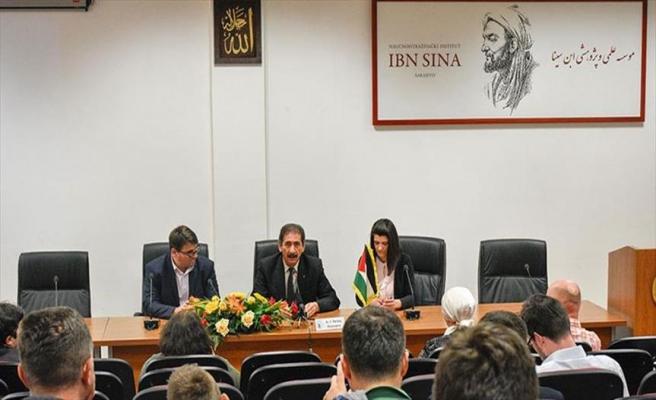 Saraybosna'da 'Direnişin Sembolü Kudüs Paneli'