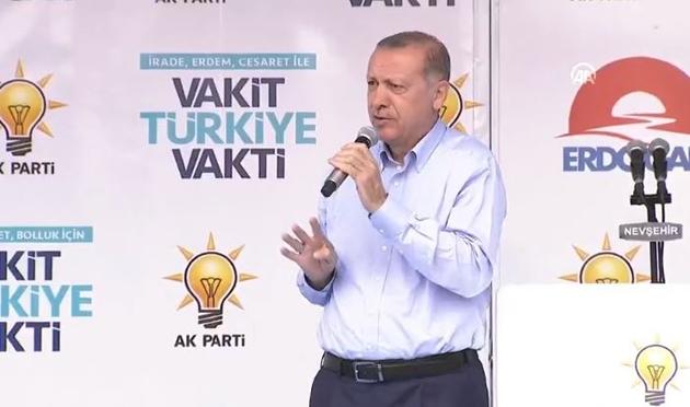 Erdoğan'dan 'Cumhur İttifakı' mesajı