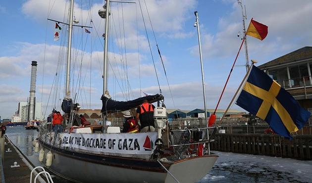 Gazze'ye Özgürlük Filosu' Fransa yolunda