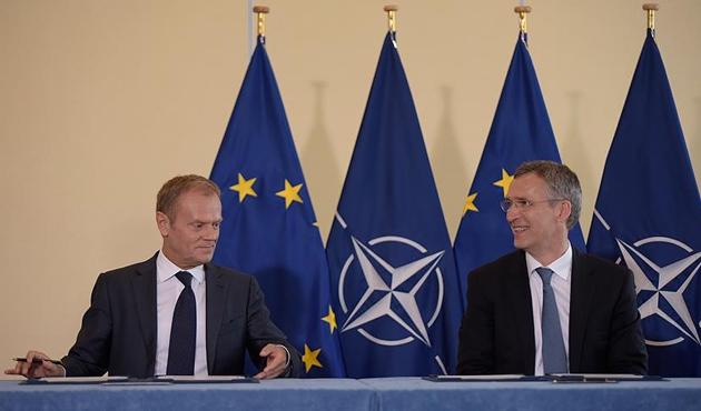 'NATO ile AB arasındaki iş birliği güçlendirilecek'