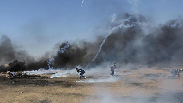 Milyonluk Kudüs'te 3 Filistinli şehit, 618 yaralı