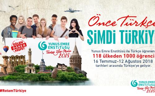 Türkçe Yaz Okulu programına rekor başvuru