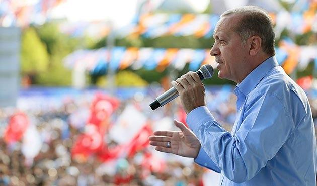 Erdoğan: Şimdi sizden 'büyük ustalık' için icazet istiyorum