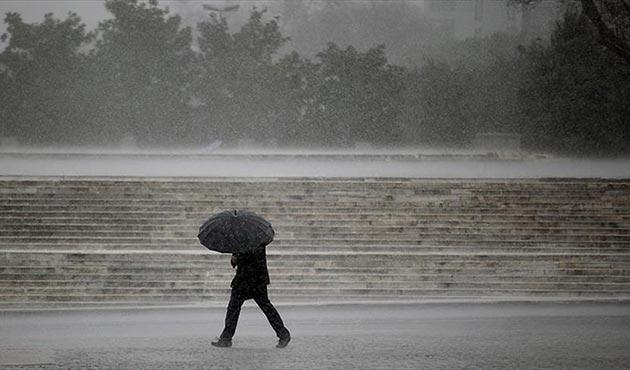 Meteoroloji'den 5 il için şiddetli sağanak uyarısı