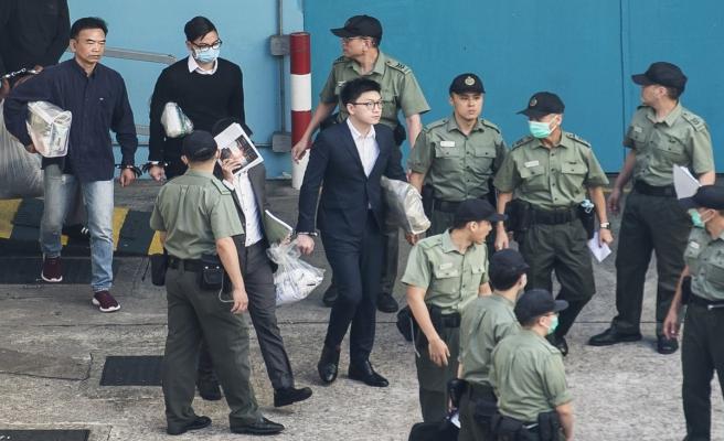 Hong Kong'un ünlü aktivisti Leung'a 6 yıl hapis
