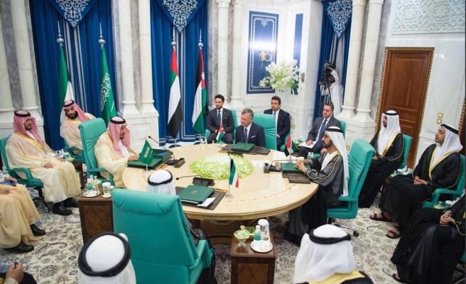 Mekke'deki zirveden Ürdün'e 2,5 milyar dolarlık destek