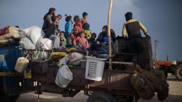 4 ayda 1 milyona yakın Suriyeli evinden oldu