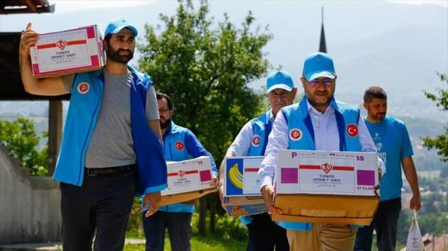 116 Boşnak sivilin katledildiği köye TDV'den yardım