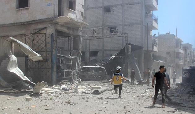 Esed rejimi ve Rusya İdlib'de bin 109 sivili katletti