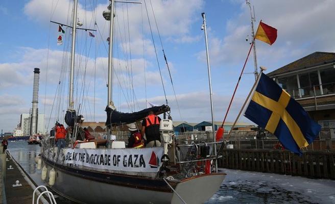 'Gazze'ye Özgürlük Filosu' Paris'te