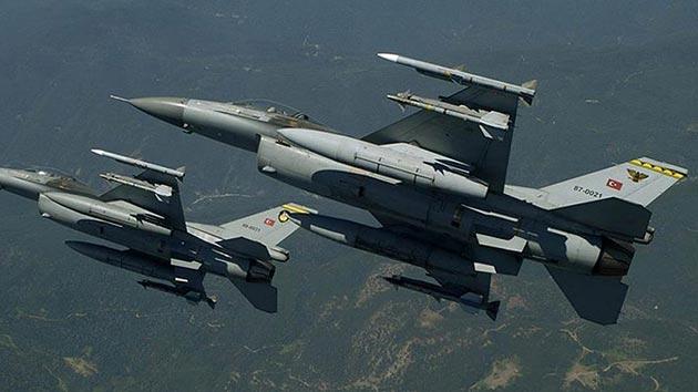 TSK: Hava harekatında 9 terörist etkisiz hale getirildi