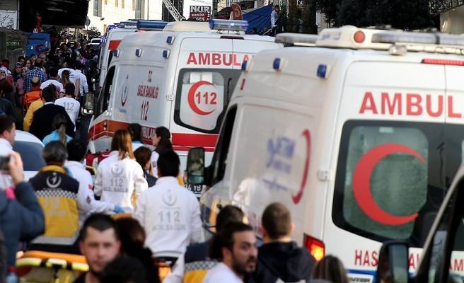Gaziantep'teki hastane yangınında 2 kişi boğuldu