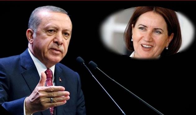 Akşener'in tek mutluluğu Erdoğan'a rakip olabilmek