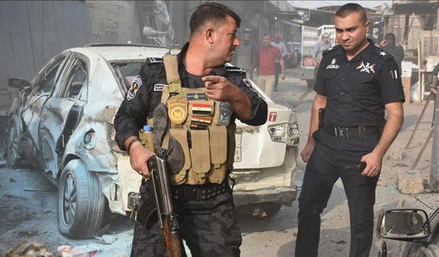 Bağdat'ta Haşdi Şabi ile polis arasında çatışma
