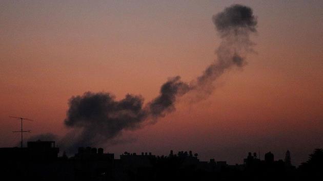 İsrail uçaklarından Filistinli gruba roket saldırısı