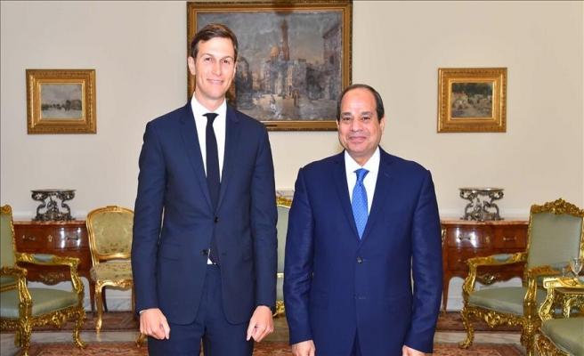 Sisi ve Kushner Filistin meselesini görüştü