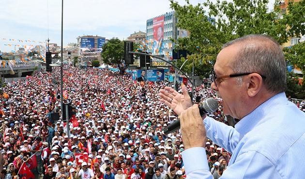 Erdoğan: Zırhlı araçlarımız Münbiç'e girdi