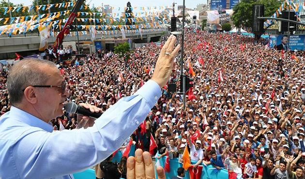 Erdoğan: İnce'nin nasıl küfürler ettiğini görüyorsunuz