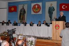 Bişkek'te Türk uygarlığı ve kürselleşme tartışıldı