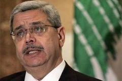 Lübnan'da İçişleri Bakanı İstifa Etti