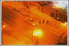 Rusya'ya Kırmızı Kar Yağdı
